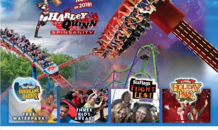 Up to 50% Online Discount Store Savings at Six Flags New England!